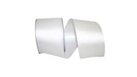 Image of a White Satin Ribbon