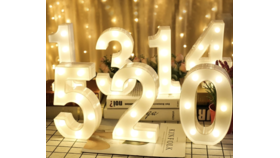 Image of a 5 Table Numbers