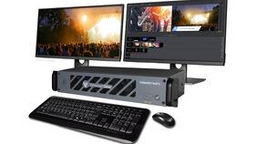 Image of a Live Stream Switcher w/ Operator