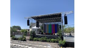 Image of a 15' x 6.5' Outdoor Daylight LED Video Wall