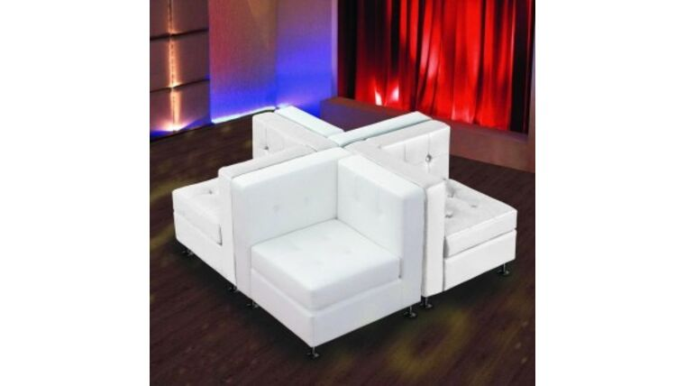 Picture of a White Lowback 4 Corners Package