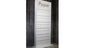 "Image of a ""Prosecco"" Champagne Accent Wall"