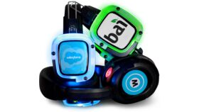 Image of a Headphone Sticker Branding