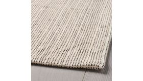 """Image of a 3'11"""" x 5'11"""" Flatwoven Area Rug - Natural/off white"""