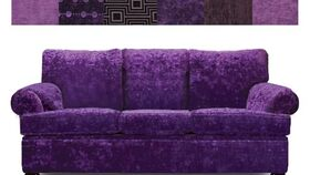 Image of a Purple Couch