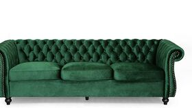 Image of a Green Couch