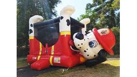 Image of a Dalmatian Bounce House