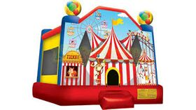 Image of a Circus Bounce House