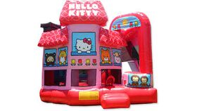 Image of a Hello Kitty Bounce House