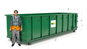 Image of a 30 Yard Dumpster