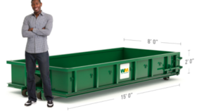 Image of a 10 Yard Dumpster