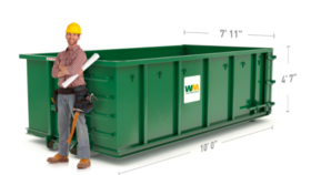 Image of a 15 Yard Dumpster
