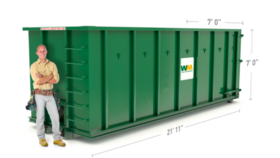 Image of a 40 Yard Dumpster
