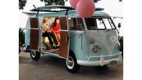 Image of a BS - VW Van Photo Station