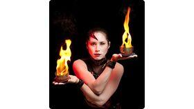Image of a IONA - Akasha Fire Dance Performance