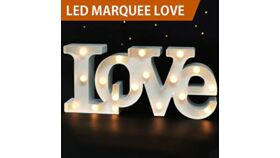 """Image of a """"LOVE"""" Sign - White"""