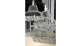 Image of a Bird Cage Card Holder 19in