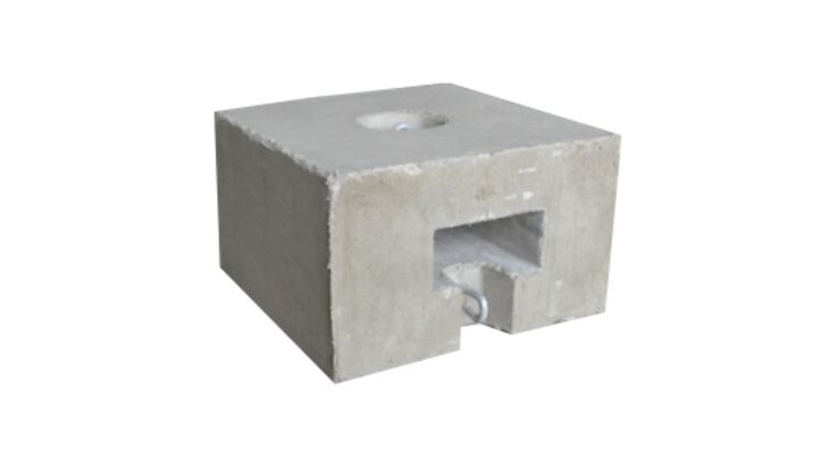 Picture of a 350 LB Block & Roll block