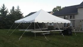 Image of a 20 x 30 tent