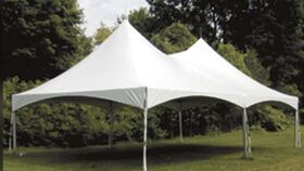 Image of a 20 x 35 frame tent