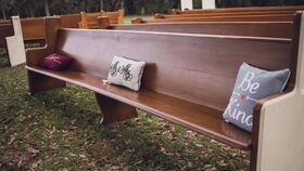 Image of a Ivory End Church Pew