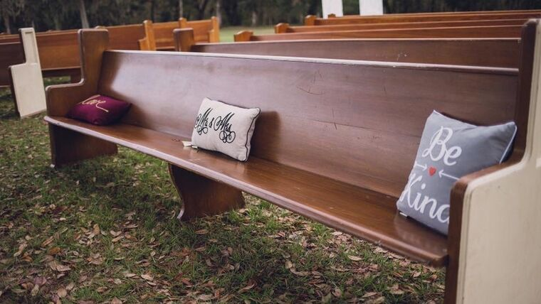 Picture of a Ivory End Church Pew