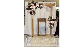 Image of a 2 piece Custom Arch Floral Arrangements