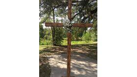 Image of a 11' Wood Cross