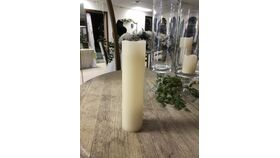 """Image of a 2"""" x 9"""" Pillar Candle Ivory"""