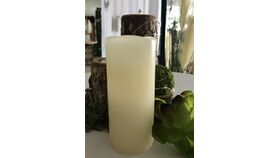 """Image of a 2"""" wide x 4.5"""" tall Pillar LED Candle - Ivory"""