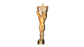 Image of a Awards Statue 9.25'H