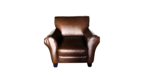 Image of a Brown Leather Chair