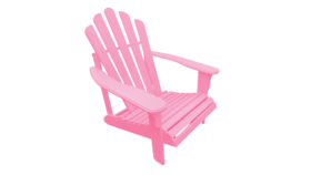 Image of a Adirondack Chair - Pink