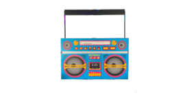 Image of a Boombox Bar Surround
