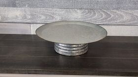 Image of a Galvanized Cake Stand