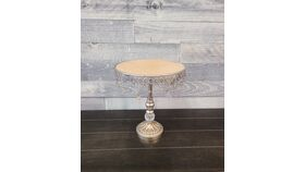 Image of a Medium Beaded Cake Stand