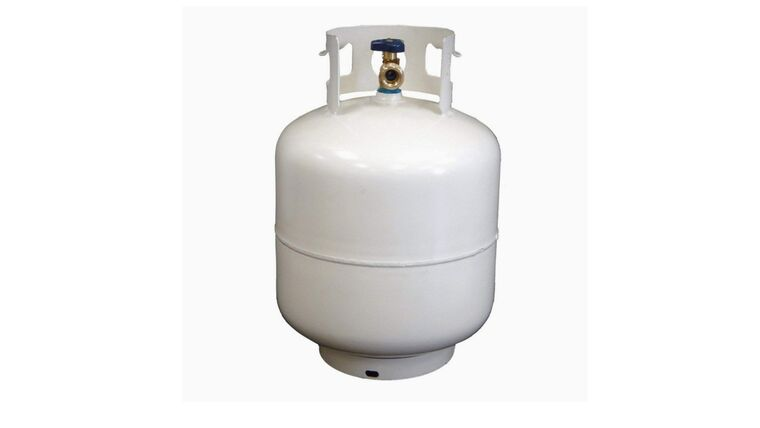 Picture of a Propane Tank Usage