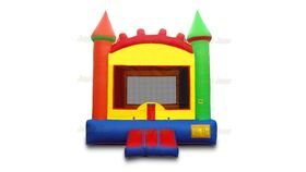 Image of a Colorful Bounce House