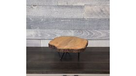 Image of a Wooden Rustic Cake Stand