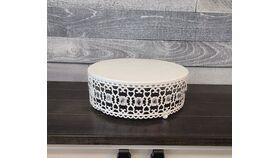 Image of a Diamond White Cake Stand