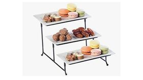 Image of a 3-Tiered Cake Tray Stand