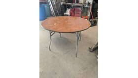 "Image of a 48"" Round Tables"