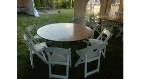 "Image of a 60"" Round Table"