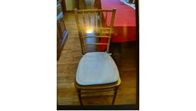 Image of a Gold Chiavari Chair