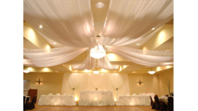 Image of a 30' Ceiling Drapery