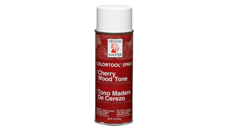 Picture of a Cherry Wood Tone Spray Paint