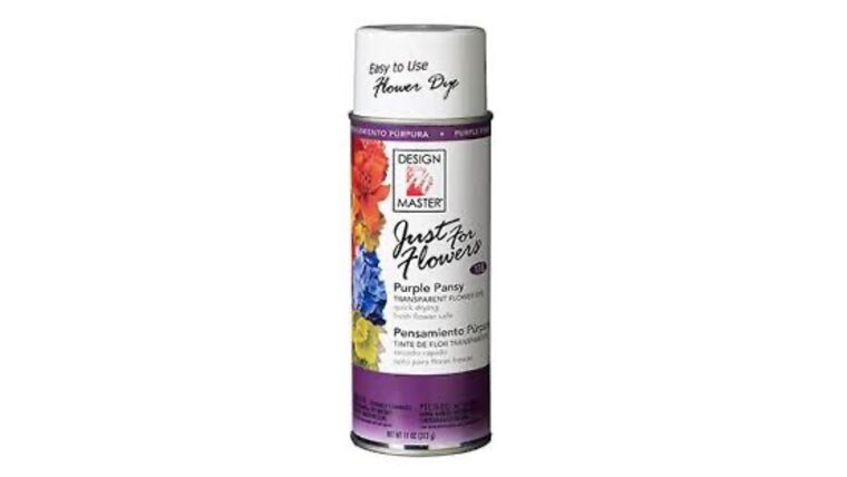 Picture of a Purple Pansies Spray Paint