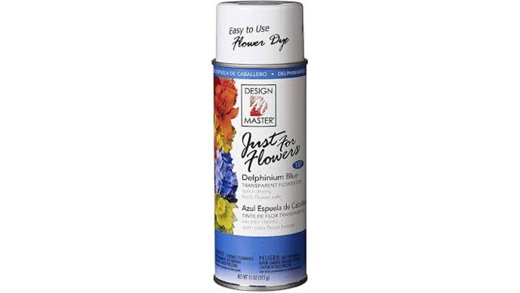 Picture of a Delphinium Blue Spray Paint
