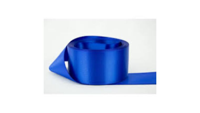 Picture of a 1 & 1/2 Inch Royal Blue Ribbon