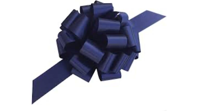 Picture of a 1 & 1/2 Inch Navy Ribbon